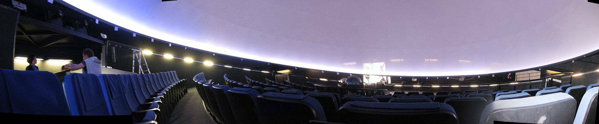 Interior of Copernicus planetarium, Warsaw