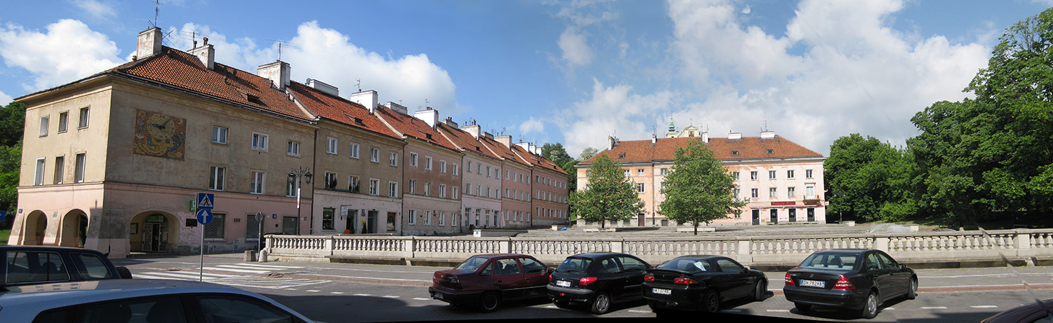 Buildings in Warsaw