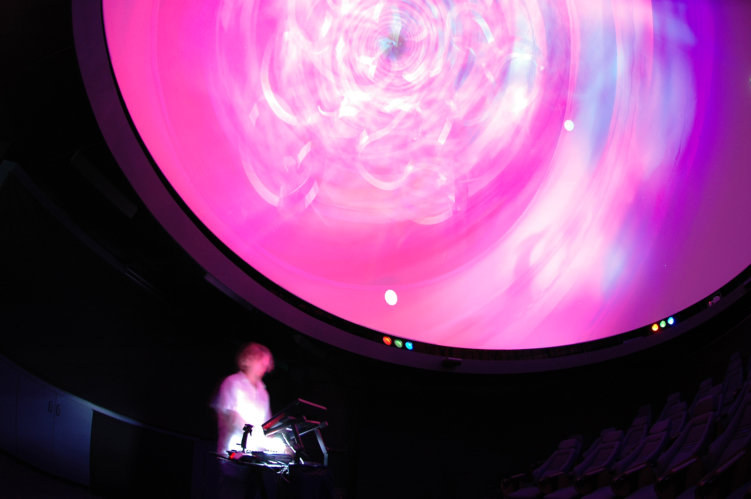 J-Walt performing at the Glendale Planetarium