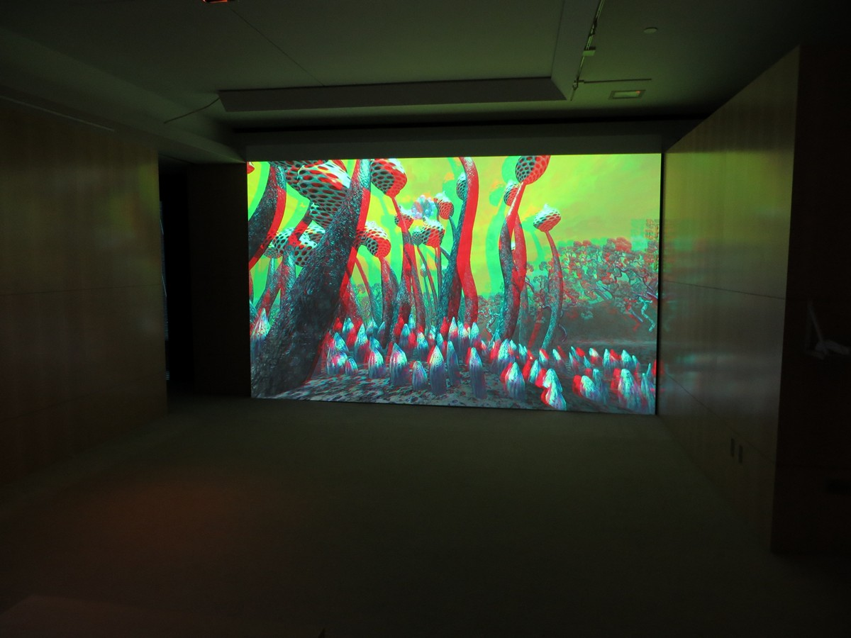 """""""Zerynthia"""" 3D installation at Young Projects Gallery"""