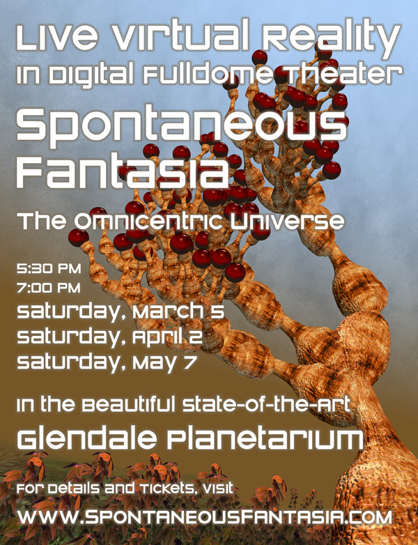 March 5 at the Glendale Planetarium