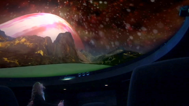 In the Planetarium Dome (video)