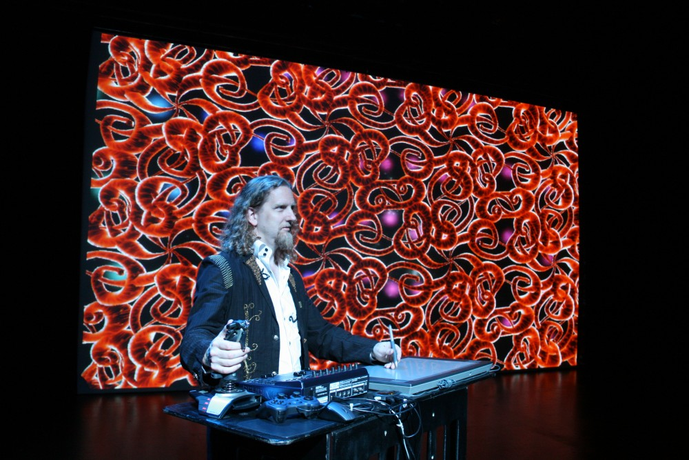 J-Walt Performing Red Matrix