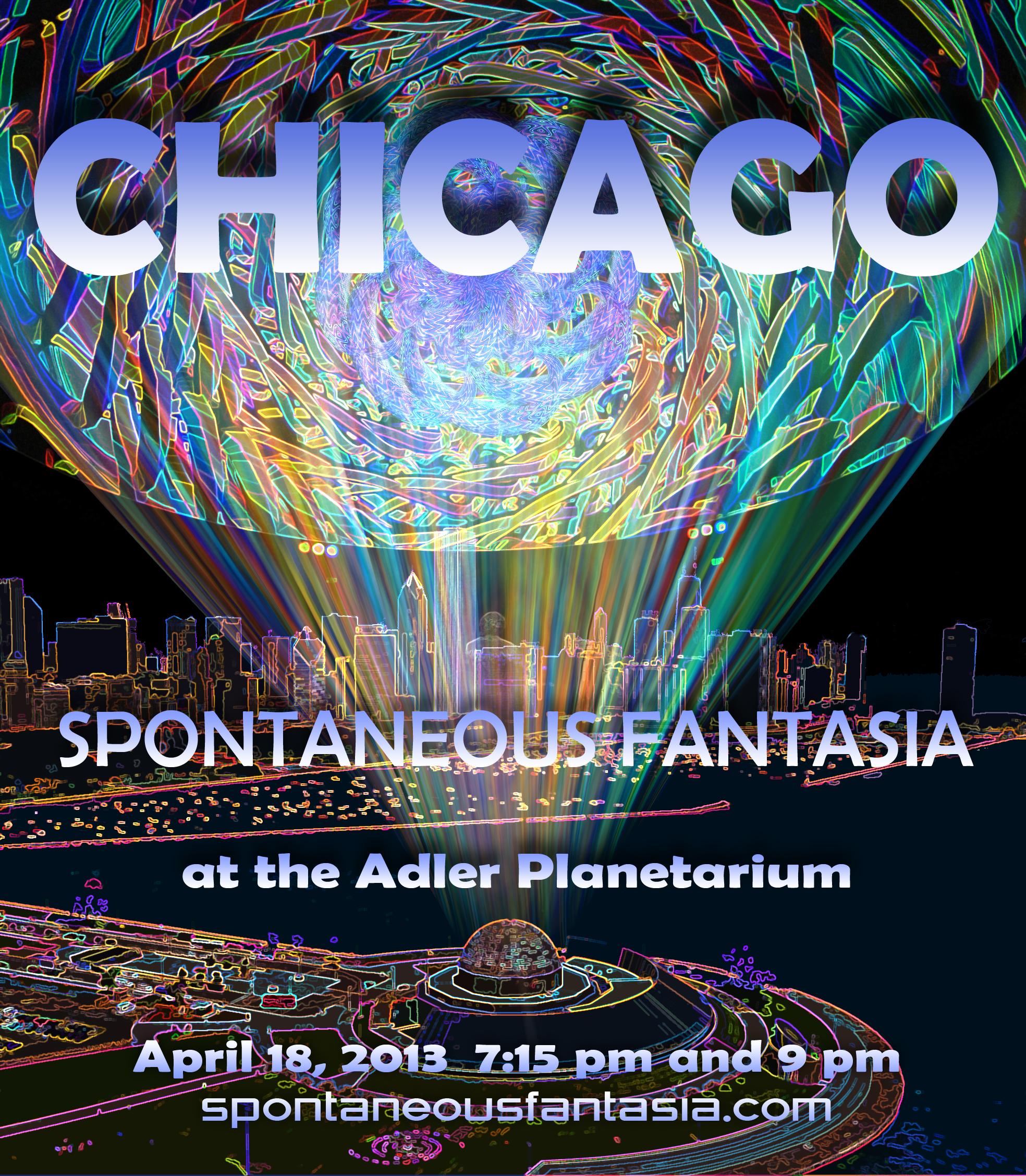 Adler Planetarium Performances 2013 - Spontaneous Fantasia