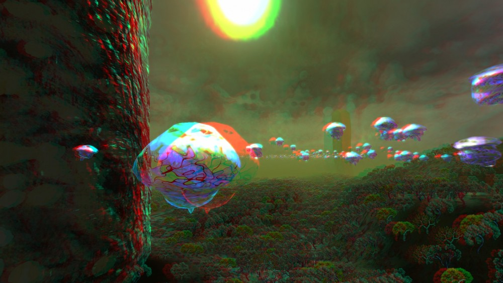 3D Scene from Zerynthia