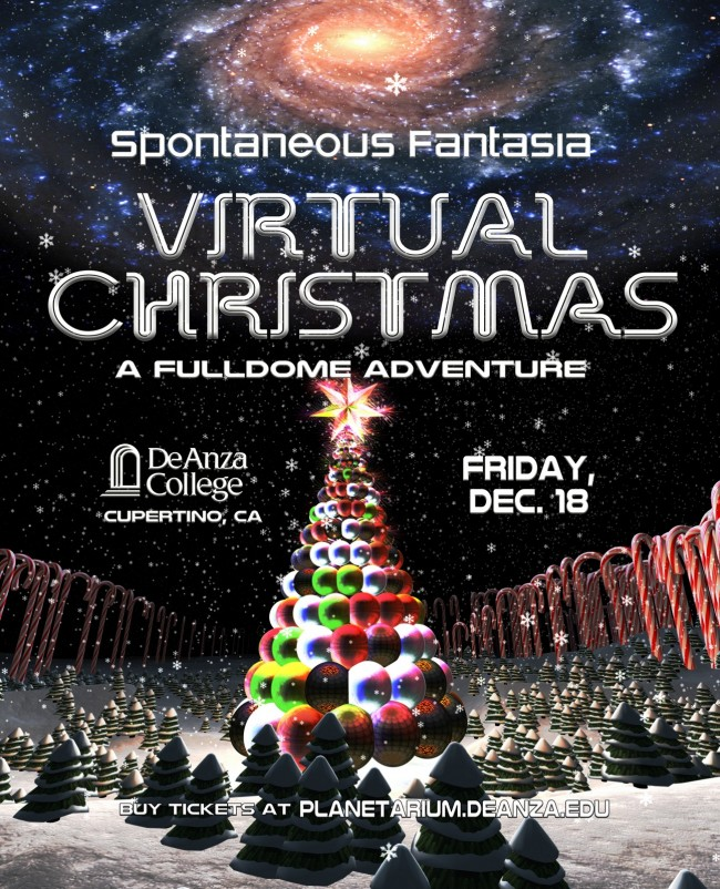 Virtual Christmas in VR