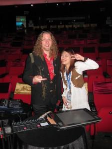 J-Walt with Queenie at MSC