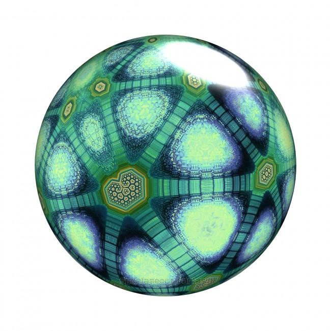 Fractal Jade Marbles