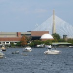 Boston Museum of Science from Harbor